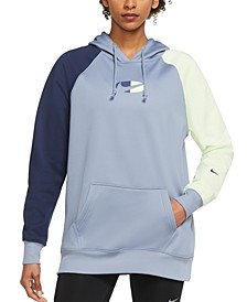 Therma-FIT Plus Size Fleece Color-Block Training Hoodie