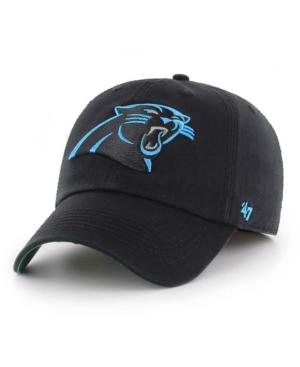 47 Brand Carolina Panthers Franchise Logo Fitted Hat
