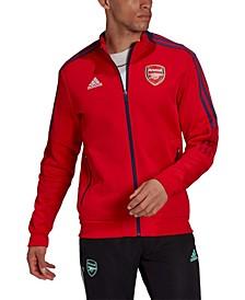 Men's Red Arsenal Anthem Full-Zip Jacket