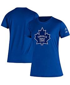 Women's Blue Toronto Maple Leafs Reverse Retro Creator T-shirt