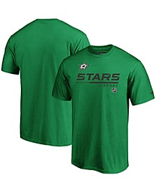 Men's Big and Tall Kelly Green Dallas Stars Authentic Pro Core Collection Prime T-shirt