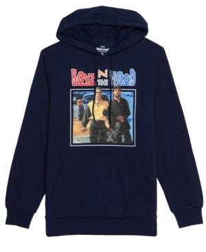 Men's Boyz Photo Hooded Fleece Sweatshirt