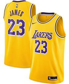 Men's LeBron James Los Angeles Lakers 2020/21 Swingman Jersey - Icon Edition