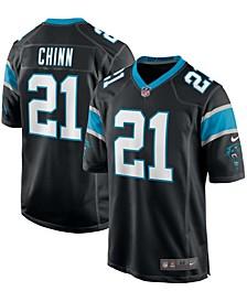 Men's Jeremy Chinn Black Carolina Panthers Game Player Jersey