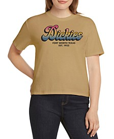Cotton Tomboy Logo Graphic T-Shirt