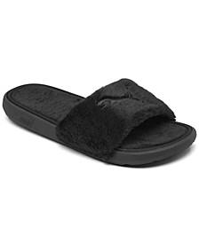 Women's Cool Cat Fluffy Slide Sandals from Finish Line
