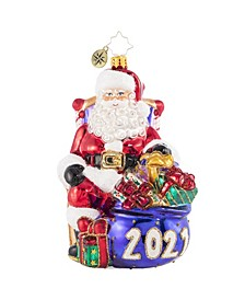Kick Back and Relax 2021 Ornament