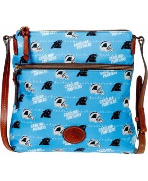 Women's Blue Carolina Panthers Team Color Nylon Crossbody Purse