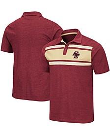 Men's Garnet Boston College Eagles Doppelganger Polo