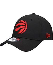 Men's Black Toronto Raptors Official Team Color 9FORTY Adjustable Hat