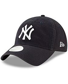 Women's Navy New York Yankees Core Classic Twill Team Color 9TWENTY Adjustable Hat