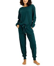 Waffle-Knit Pajama Set, Created for Macy's