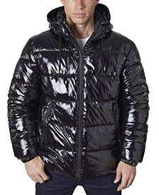 Men's High Shine Fashion Puffer Jacket