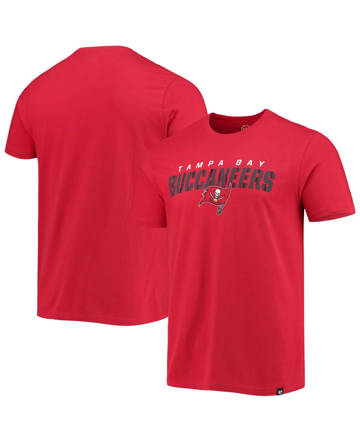 Mens Red Tampa Bay Buccaneers Traction Super Rival T-shirt