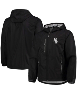 Men's Black Chicago White Sox Double Play Lightweight Hoodie Jacket