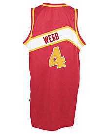 adidas Men's Spud Webb Atlanta Hawks Retired Player Swingman Jersey