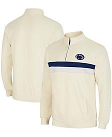 Men's Cream Penn State Nittany Lions Activities Quarter-Zip Jacket