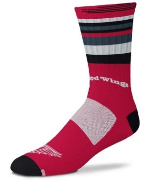 Men's and Women's Detroit Red Wings Rave Crew Socks