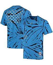Men's Royal Team USA Basketball Courtside T-shirt