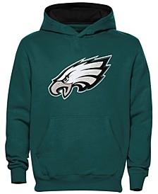 Philadelphia Eagles Preschool Midnight Green Fan Gear Primary Logo Pullover Hoodie