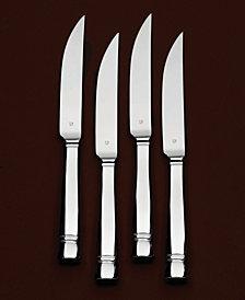 """Vera Wang Wedgwood """"Cabochon"""" Steak Knives, Set of 4"""