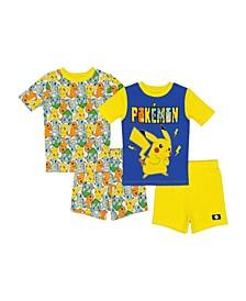 Big Boys Pajama, 4 Piece Set