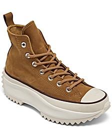 Women's Run Star Hike Nubuck Platform High Top Sneaker Boots