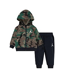Baby Boy Pullover and Pants 2 Piece Set