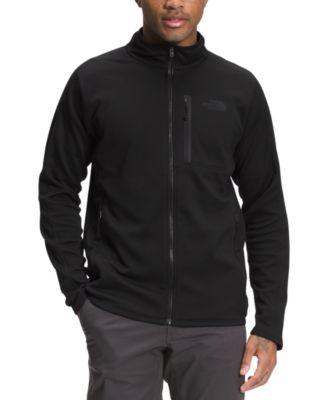 노스페이스 맨 플리스 집업 맨투맨 The North Face Mens Canyonlands Standard-Fit Full-Zip Fleece Sweatshirt,Tnf Black