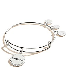 Granddaughter By Your Side Charm Bangle