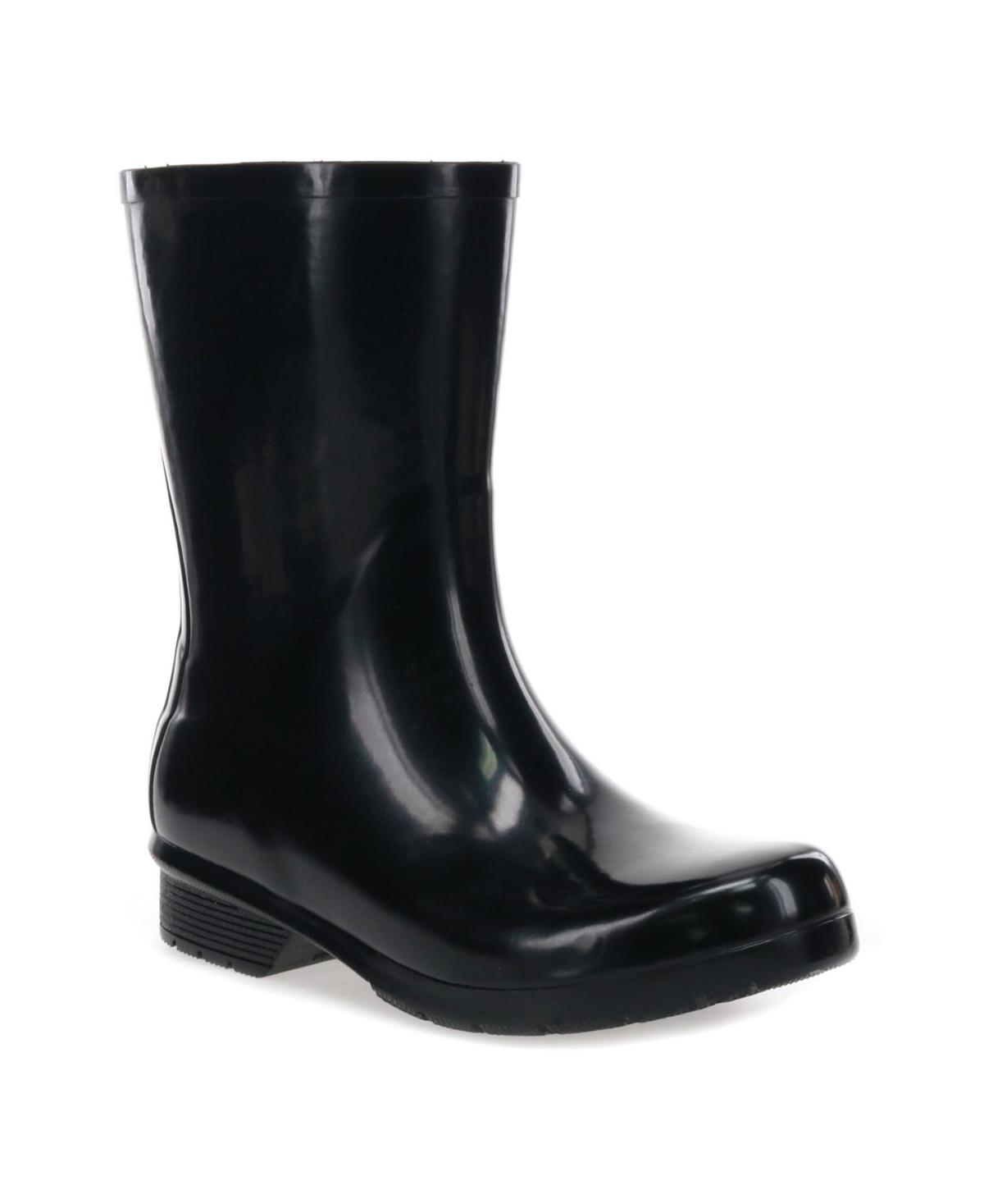 Chooka Women's Polished Waterproof Rain Boots Women's Shoes