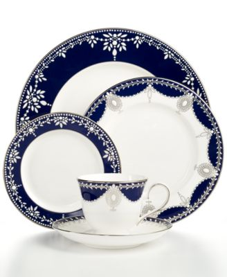 Dinnerware, Empire Indigo 5 Piece Place Setting