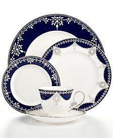 Dinnerware, Empire Indigo 5 Piece Place Setting