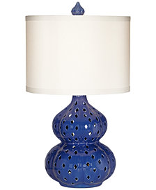 CLOSEOUT! Pacific Coast Mercata Blue Table Lamp