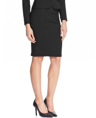 XOXO Juniors' Seamed Pencil Skirt