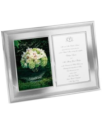 "Grosgrain Double Invitation 5"" x 7"" Frame"