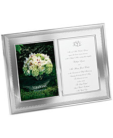 "Vera Wang Wedgwood Grosgrain Double Invitation 5"" x 7"" Frame"