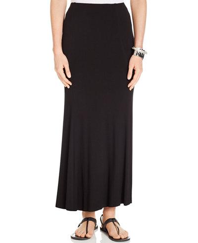 Karen Kane Flared Maxi Skirt - Skirts - Women - Macy's