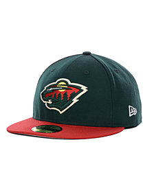 New Era Minnesota Wild Basic 59FIFTY Cap