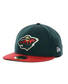 New Era Minnesota Wild Basic 59FIFTY Cap