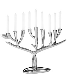 Nambe Tree of Life Menorah