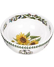"""Botanic Garden Serveware 10"""" Sunflower Salad Bowl"""