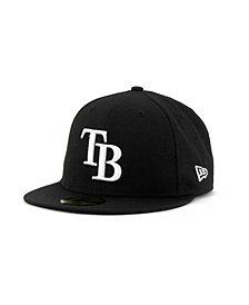 New Era Tampa Bay Rays MLB B-Dub 59FIFTY Cap