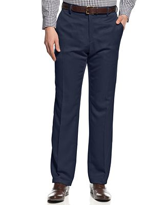 Kenneth Cole Reaction Slim-Fit Urban Dress Pants - Pants - Men ...