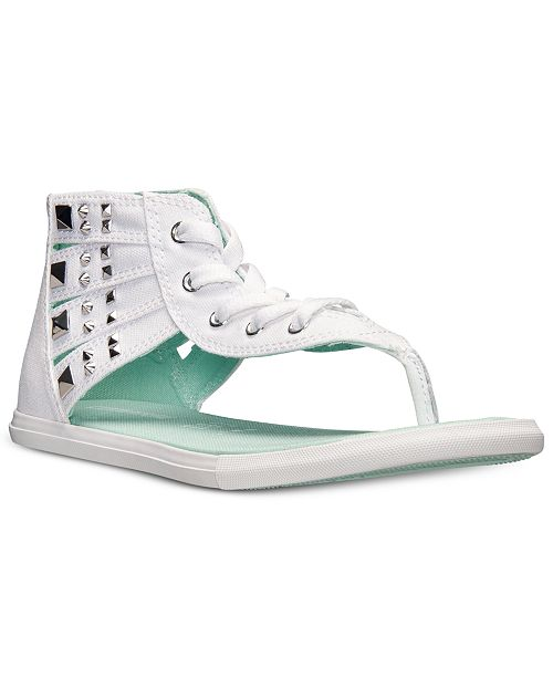 8223138f9186 ... Converse Women s Chuck Taylor Gladiator Thong Sandals from Finish ...