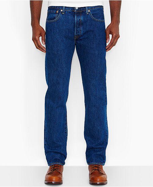 9488e35f2b4 Levi's Men's Big and Tall 501 Original Fit Jeans & Reviews - Jeans ...