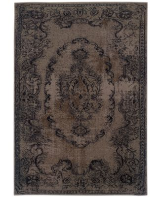 "CLOSEOUT! Revamp REV7119 1'10"" x 7'6"" Runner Rug"