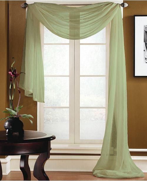 Miller Curtains Sheer Preston Rod Pocket 48\