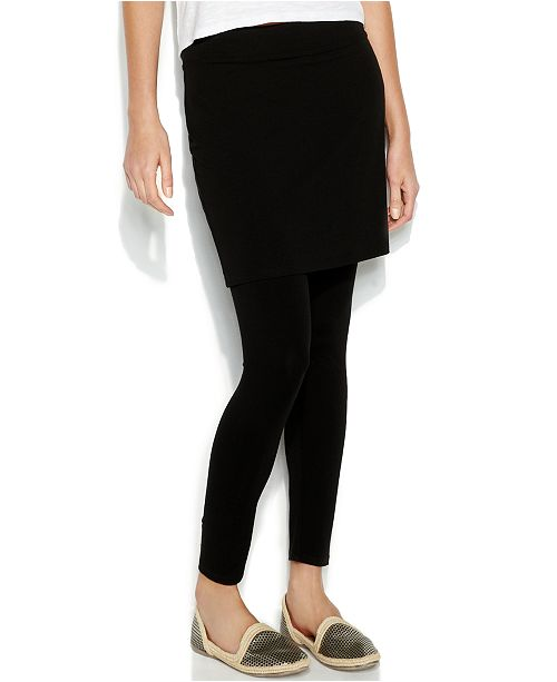 a4b4a2b0d92c7 ... Eileen Fisher Stretch Jersey Knit Skirted Leggings, Regular & Petite,  Created for Macy's ...