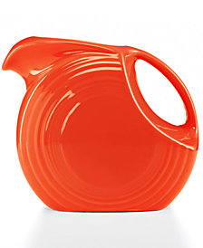 Fiesta Poppy 67.75-oz. Large Disk Pitcher